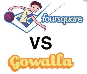Foursquare vs Gowalla