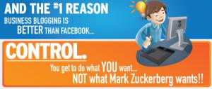 Facebook vs Blog de Empresa [Infografia]