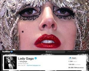 Lecciones a aprender del reinado de Lady Gaga en Twitter